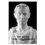 Great Roman: Julius Caesar Large Poster