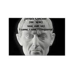 Great Roman: Julius Caesar Rectangle Magnet (10 pa