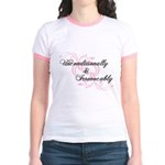 Irrevocably In Love Twilight Jr. Ringer T-Shirt