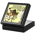 Eastern Thought: Confucius Keepsake Box