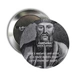 "Eastern Wisdom: Confucius 2.25"" Button (10 pack)"