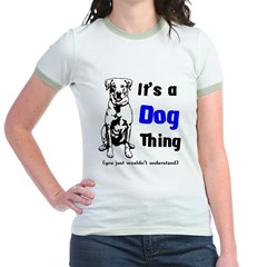 Its a Dog Thing Jr. Ringer T-Shirt