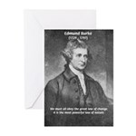 Edmund Burke Greeting Cards (Pk of 10)