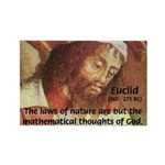 Euclid: Math and Philosophy Rectangle Magnet (10 p
