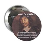 "Philosopher: Rene Descartes 2.25"" Button (10 pack)"