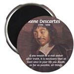 "Philosopher: Rene Descartes 2.25"" Magnet (10 pack)"