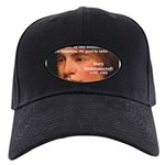 Feminist Mary Wollstonecraft Black Cap
