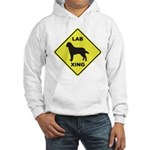 Labrador Xing Hooded Sweatshirt