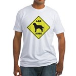 Labrador Xing Fitted T-Shirt