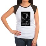 President George Washington Women's Cap Sleeve T-S