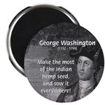 "George Washington 2.25"" Magnet (10 pack)"