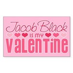 Jacob Twilight Valentine Rectangle Sticker