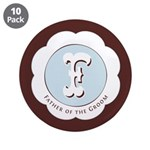"Market Father of the Groom 3.5"" Button (10 pack)"