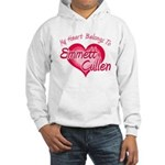 Emmett Cullen Heart Hooded Sweatshirt