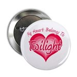 "Heart Belongs Twilight 2.25"" Button (10 pack)"
