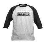 Retroactive Abortion For Libe Kids Baseball Jersey