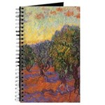 Van Gogh Olive Grove Journal