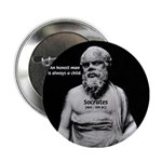 Wisdom of Socrates Button