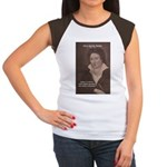 Romantic Poet Percy Shelley Women's Cap Sleeve T-S