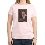 Writer Percy Bysshe Shelley Women's Pink T-Shirt