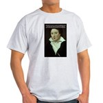 Romantic Writer: Percy Shelley Ash Grey T-Shirt