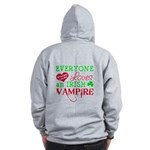 Irish Vampire Twilight Zip Hoodie