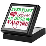 Irish Vampire Twilight Keepsake Box