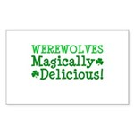 Werewolves Delicious Rectangle Sticker 50 pk)