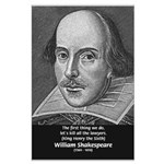 William Shakespeare Large Poster