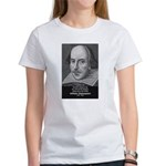 William Shakespeare Women's T-Shirt