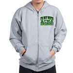 I'm Not White I'm Irish Zip Hoodie