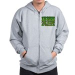 Irish Car Bomb Team Shamrock Zip Hoodie