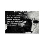 Bertrand Russell Rectangle Magnet (10 pack)