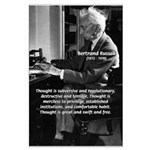 Philosophy Bertrand Russell Large Poster
