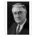 Franklin D. Roosevelt Small Poster