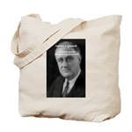 Franklin D. Roosevelt Tote Bag