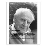Open Society: Karl Popper Small Poster