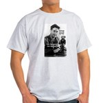 Modern Fable Writer Orwell Ash Grey T-Shirt