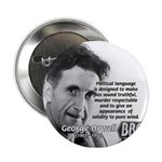Politics / Language: Orwell Button