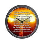 Atomic Bomb: Oppenheimer Wall Clock