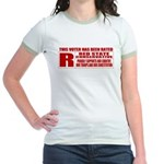 Rated R Red State Conservative Jr. Ringer T-Shirt