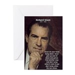 Inspiration President Nixon Greeting Cards (Packag