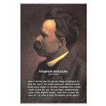 Master of Prose: Nietzsche Large Poster