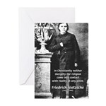 Critic of Religion: Nietzsche Greeting Cards (Pack