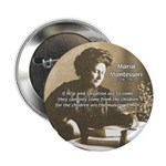 "Maria Montessori Education 2.25"" Button (100 pack)"