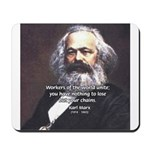 Union of Workers: Marx Mousepad