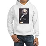 Karl Marx Religion Opiate Masses Hooded Sweatshirt