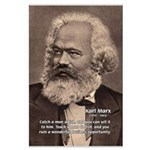 History Analyst Karl Marx Large Poster