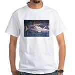 Rome Philosophy Lucretius White T-Shirt