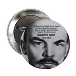 Capitalism and Lenin Button
